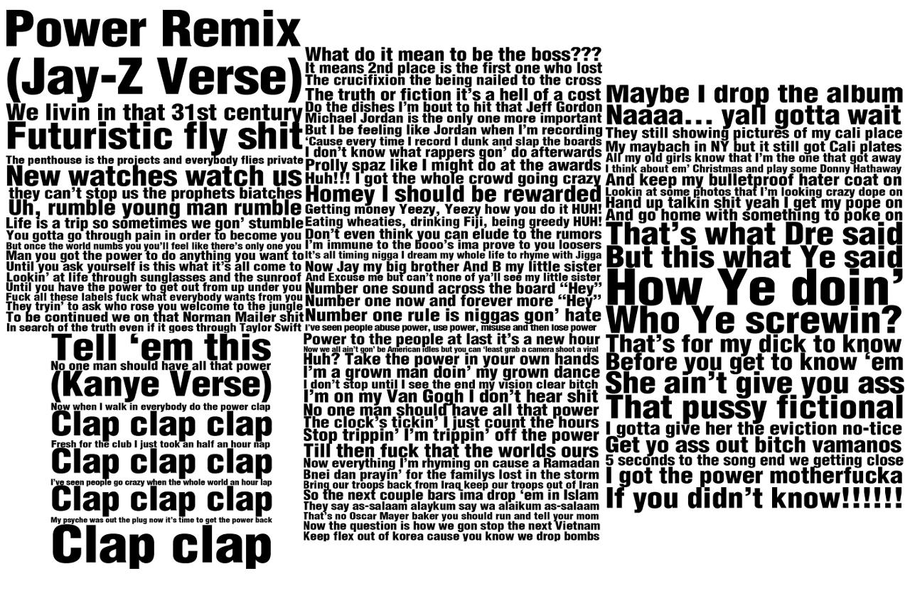 Kanye West POWER POWER Music Video | MetroLyrics